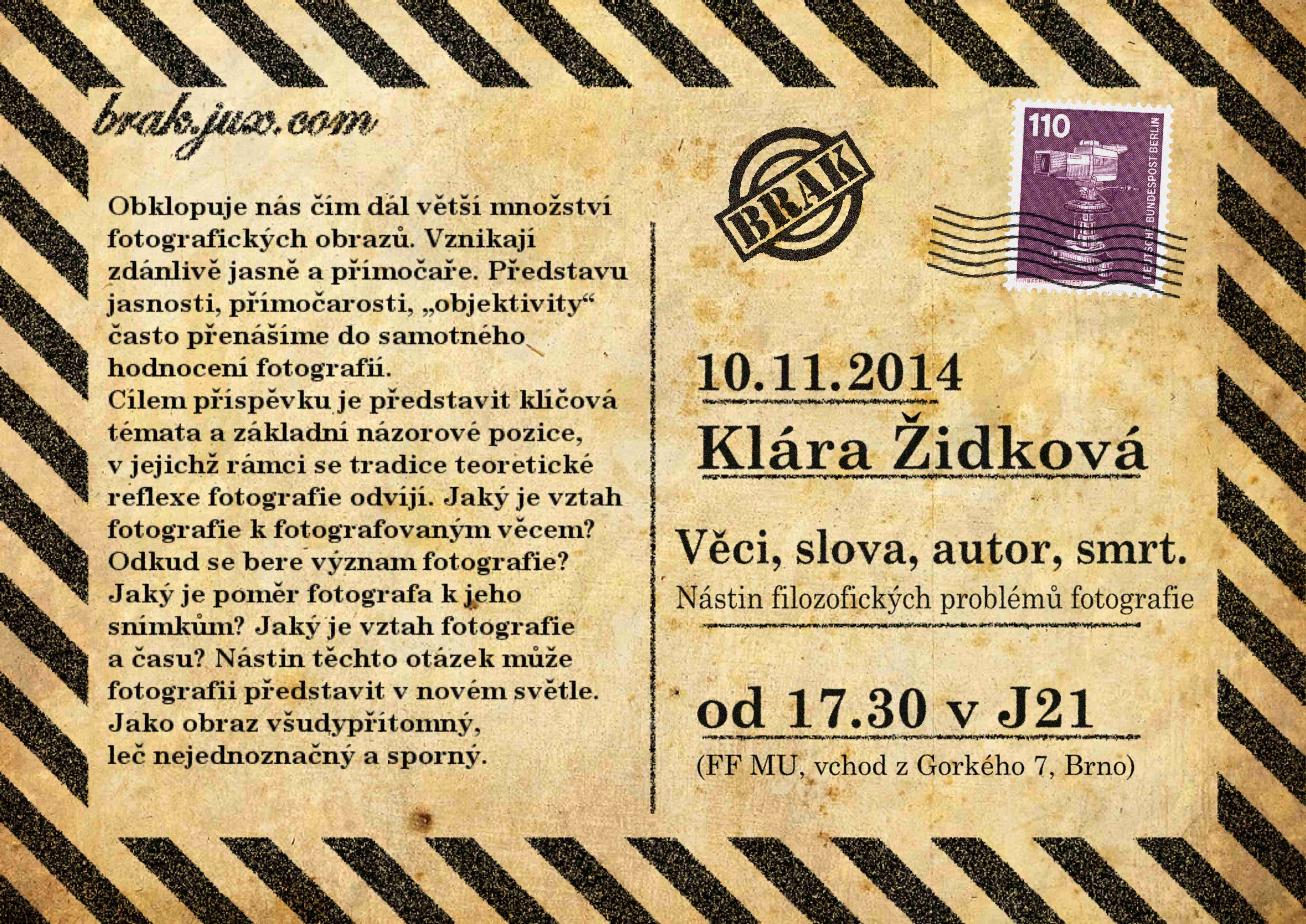 2014-11-10-Židková,Klára-plakát-fin