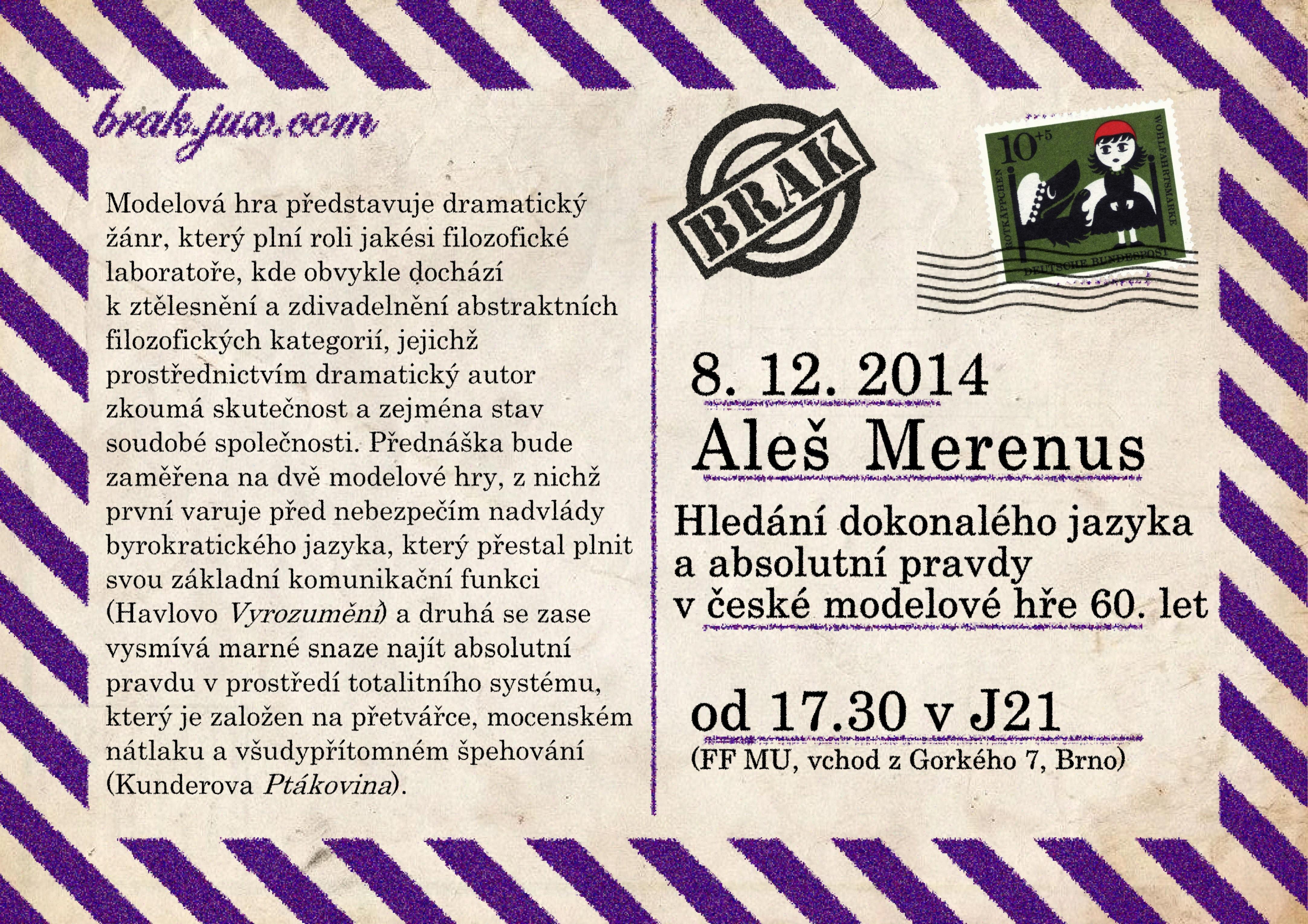 2014-12-08-Merenus,Aleš-plakát